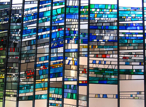 Modern Stained Glass Gives A Unique Look With Ancient Art
