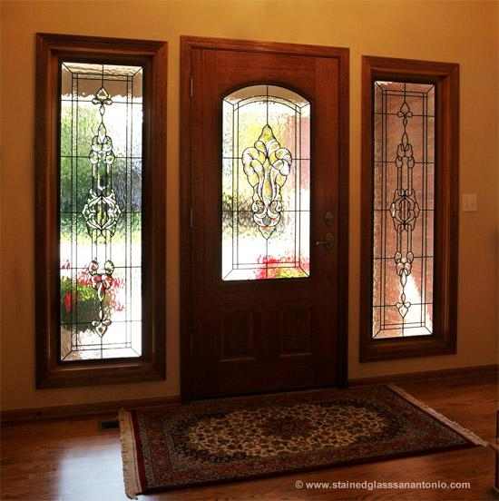 Charming Stained Glass Entryways San Antonio Stained