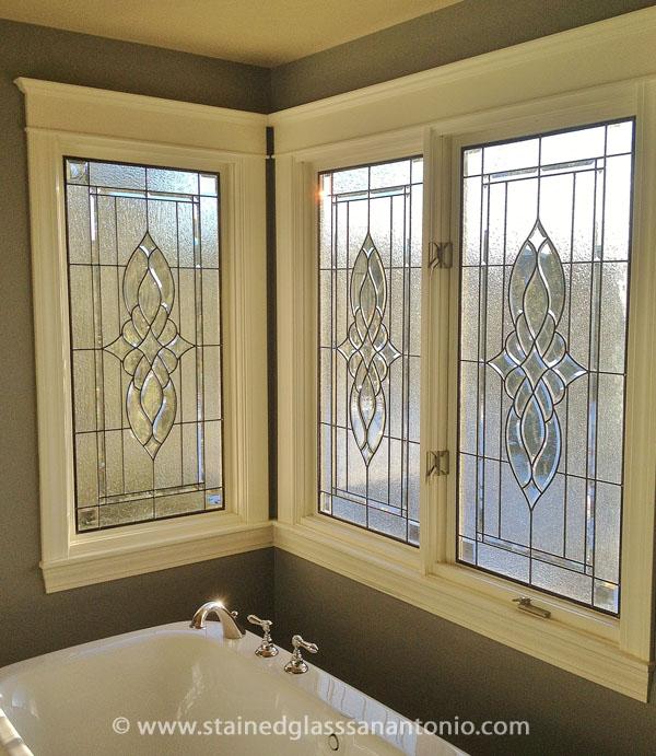 Bathroom Privacy Glass Bamboo