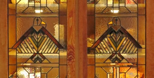 Stained Glass Cabinet Door