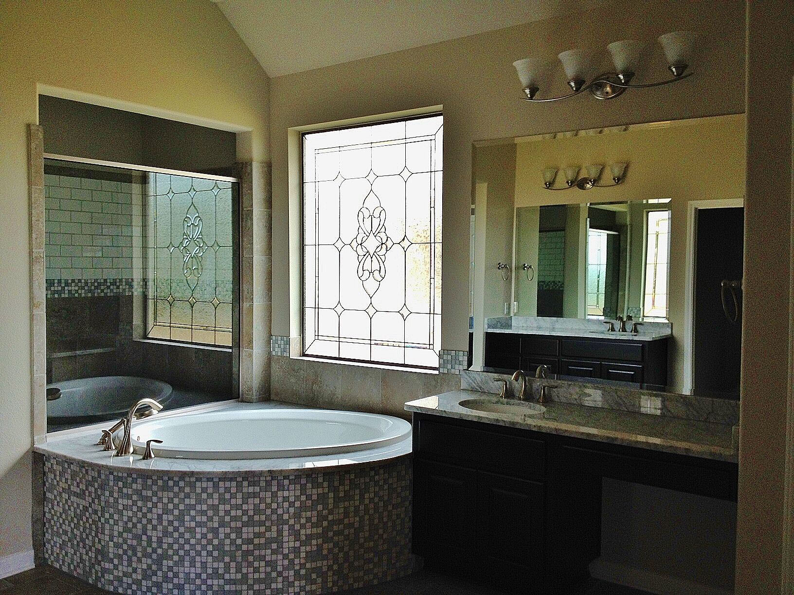 Stained Glass Bathroom san antonio texas