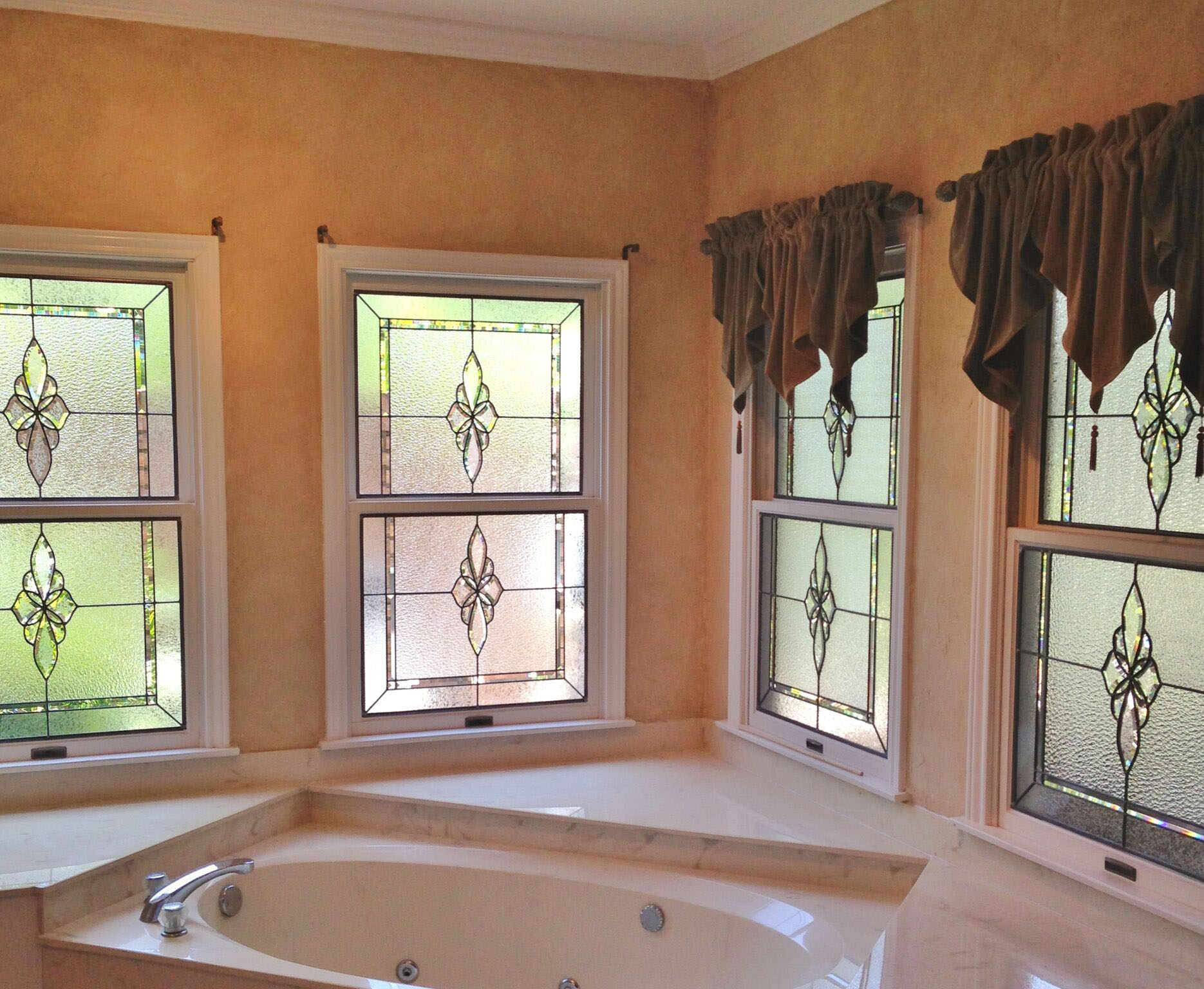 bathroom stained glass san antonio