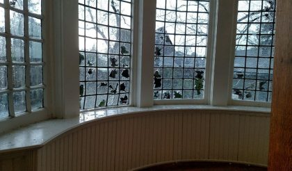 stained glass hail damage repair odessa