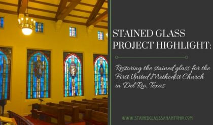 stained glass restoration del rio