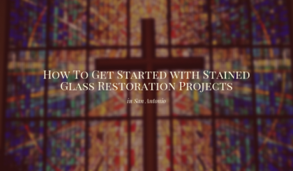 stained glass restoration san antonio