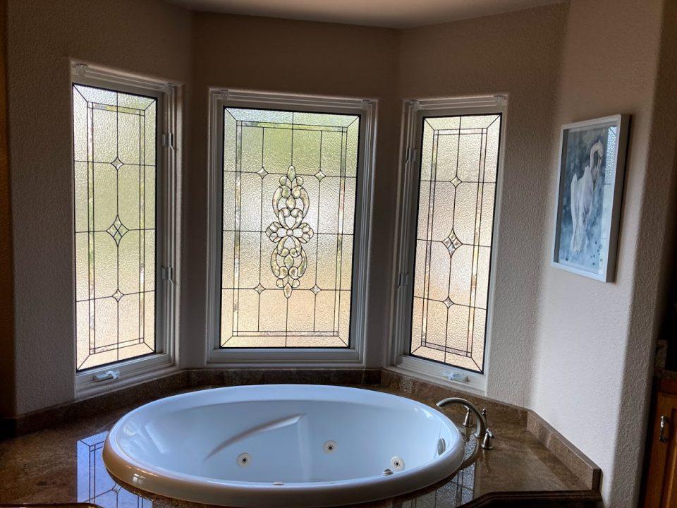 bathroom stained glass san antonio