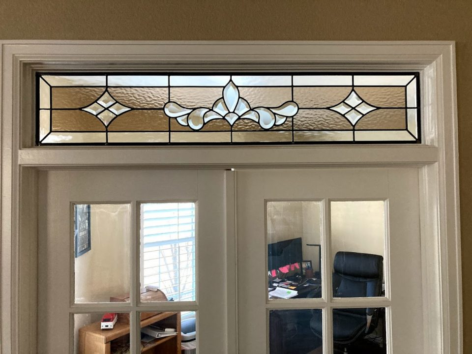 san antonio transom stained glass